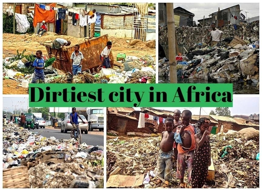 Which city is the dirtiest in Africa?