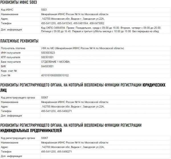 14 налоговая инспекция г видное официальный сайт телефон