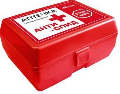 Состав аптечки антиспид по санпину на 2020 год